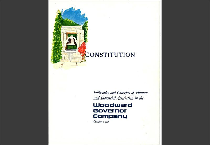 Woodward Constitution